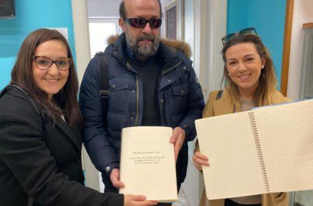 """Bilancio sociale dell'Ac Bari Bat in Braille e Lis: """"Il nostro messaggio sulla sicurezza stradale vogliamo portarlo a tutti"""""""