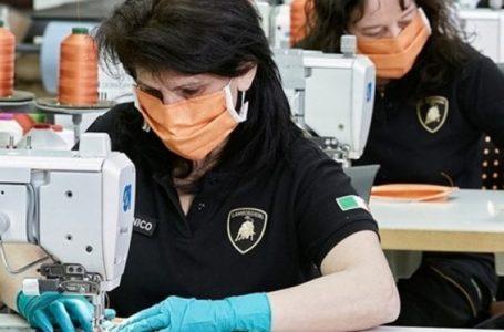 Coronavirus: Lamborghini produrrà mascherine e visiere protettive mediche