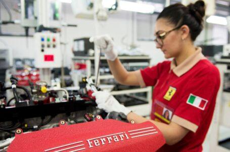 """Ferrari, grande traguardo per la parità di genere: ottenuta la certificazione """"Equal Salary""""."""