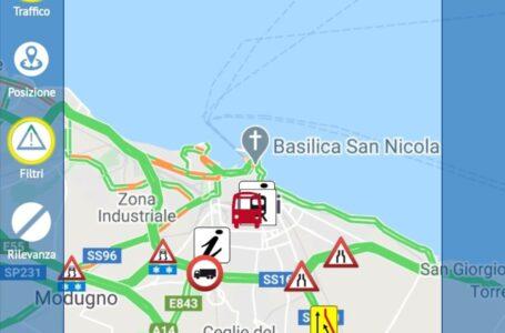 Aci e Polizia Locale Bari, al via da oggi il notiziario di viabilità e informazioni su emergenza Covid
