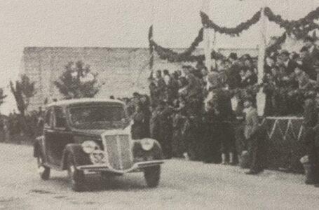 Storia dell'automobilismo sportivo in Puglia: l'emozione del 1^ Circuito di Monopoli