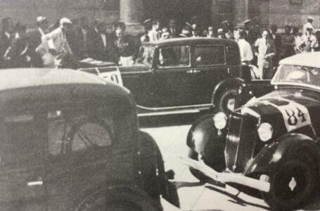 Storia dell'automobilismo pugliese: gli anni dal 1935 al 1939 e il 1^ Circuito Monopoli