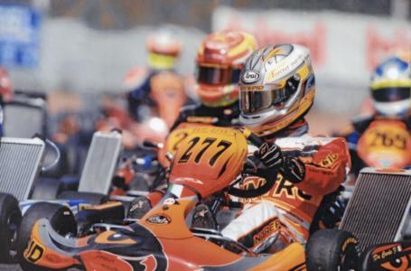 Il rombo pugliese dei kart nella passione di Peppino De Carlo