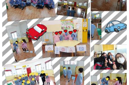 L'educazione stradale sin dalla scuola dell'infanzia: l'esempio dei piccoli alunni della Ronchi di Cellamare