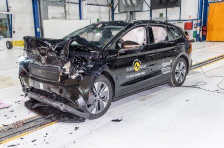 Crash test Euro NCAP, massimo punteggio per le elettriche Enyaq e ID.4