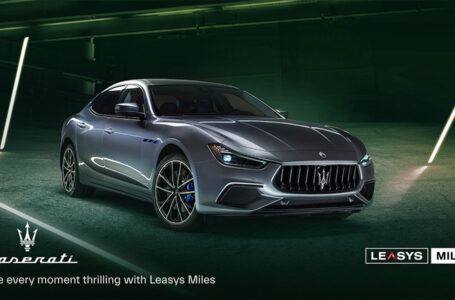 Nasce Leasys Miles Maserati: il noleggio pay per use incontra l'eleganza e il lusso della casa del Tridente