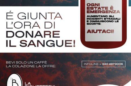 Emergenza sangue in Puglia, l'Ac Bari Bat al fianco di Ciao Vinny nella giornata per la donazione