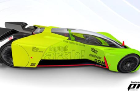La Ford trasforma l'auto da corsa vituale P1 in un simulatore di gioco