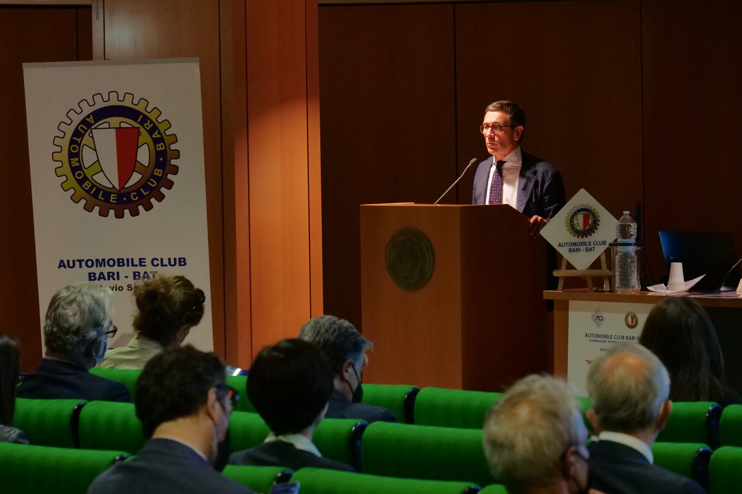 Bari, dalla mobilità sostenibile alla sicurezza stradale: l'Aci Bari Bat guarda al futuro