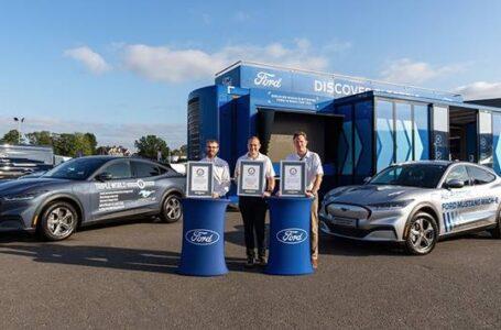Ricarica rapida per il suv della Ford: terzo Guinness World Records