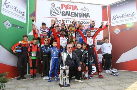 """La Puglia domina il Campionato italiano Aci Karting. De Carlo: """"Adesso difenderemo il titolo"""""""